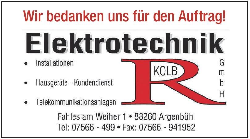 Elektrotechnik Kolb GmbH
