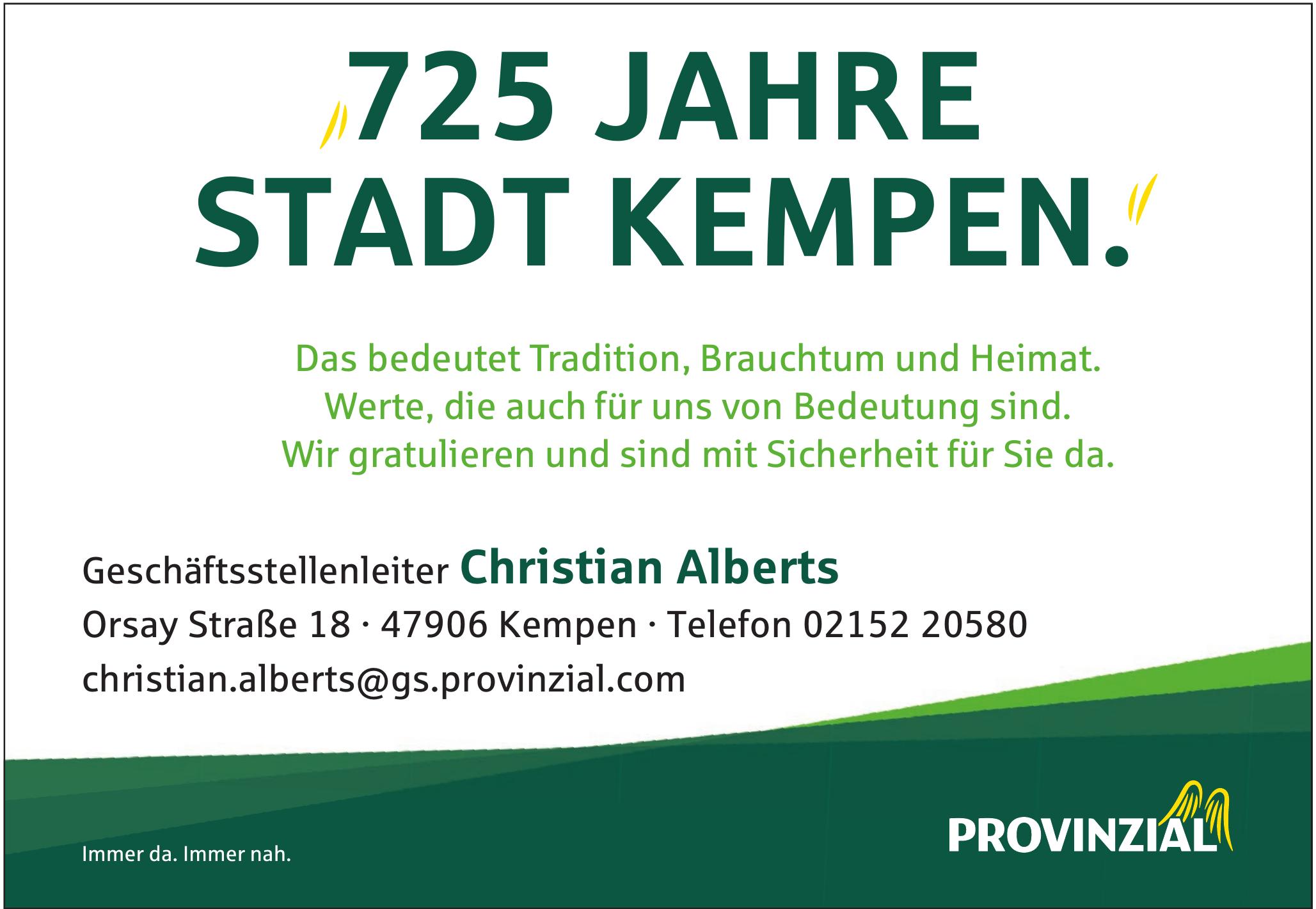 Provinzial Christian Alberts