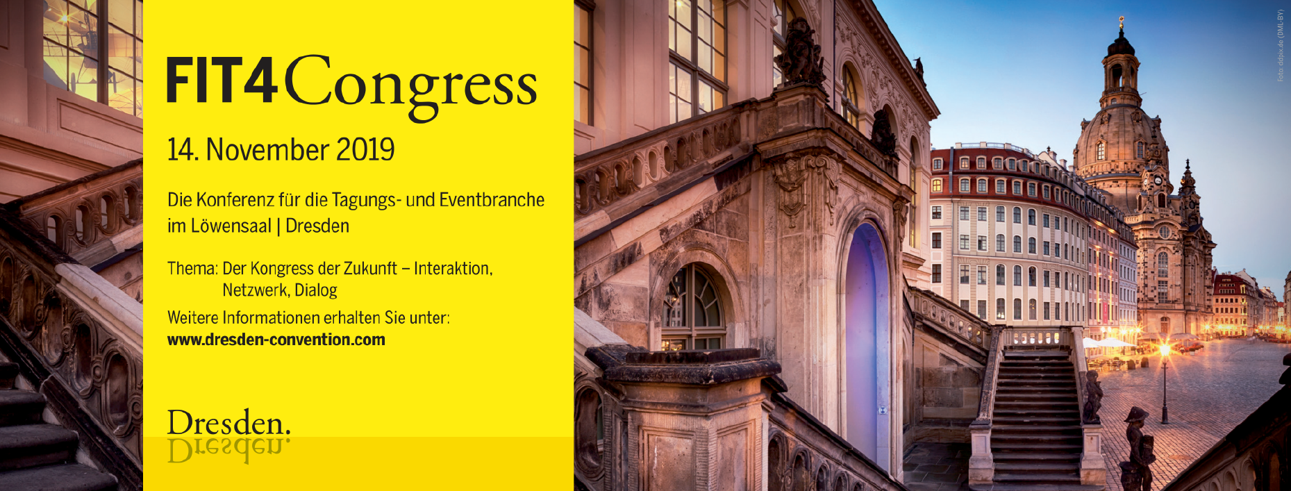 Dresden. Convention