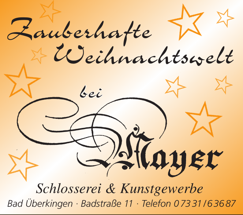 Mayer Schlosserei & Kunstgewerbe