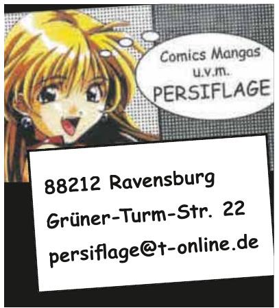 Comics mangas u. v. m. Persiflage