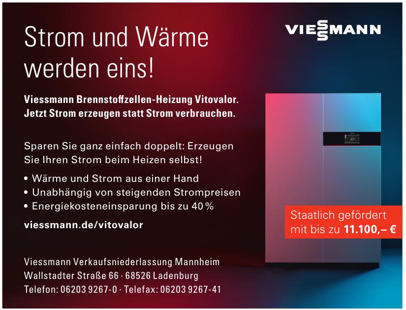 Viessmann Verkaufsniederlassung Mannheim
