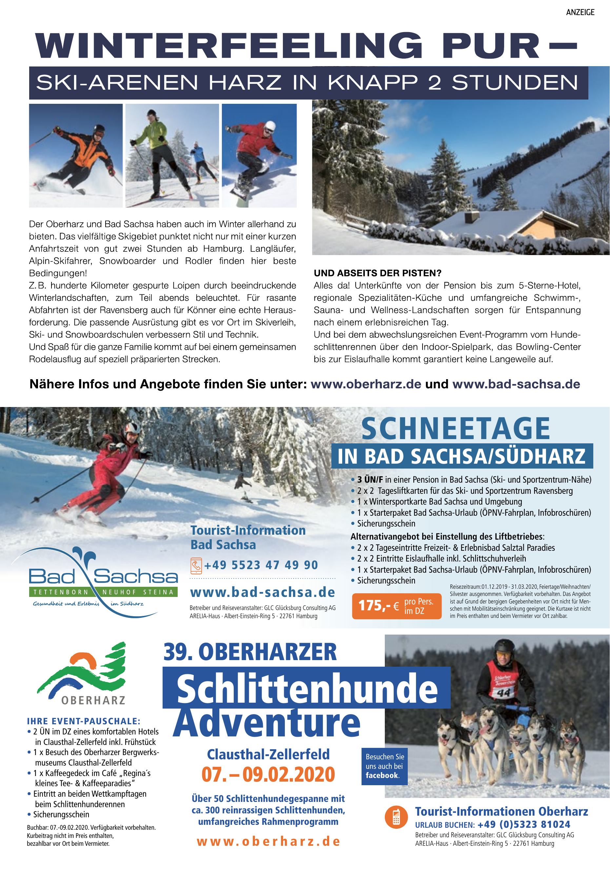 Tourist-Informationen Oberharz