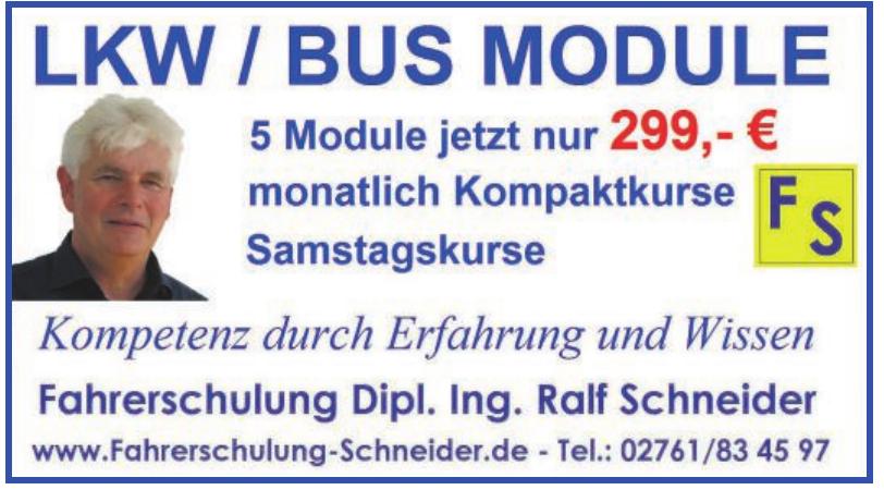Fahrerschulung Dipl. Ing. Ralf Schneider