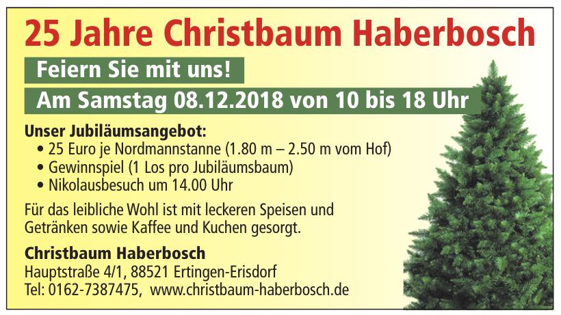 Christbaum Haberbosch