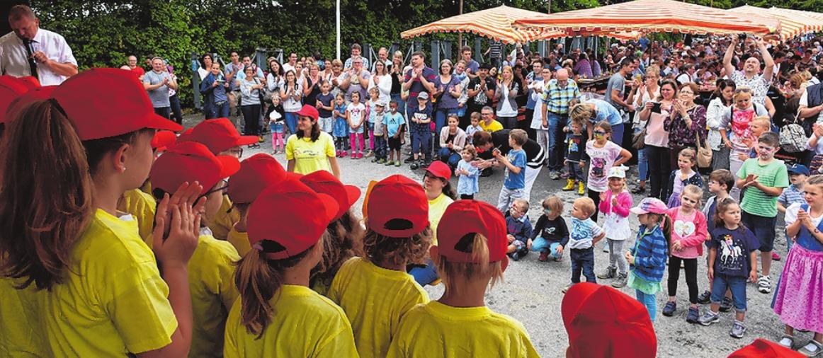 Das Dorffest in Kürnach bietet Unterhaltung für Jung und Alt.