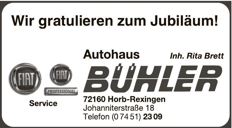 Autohaus Bühler