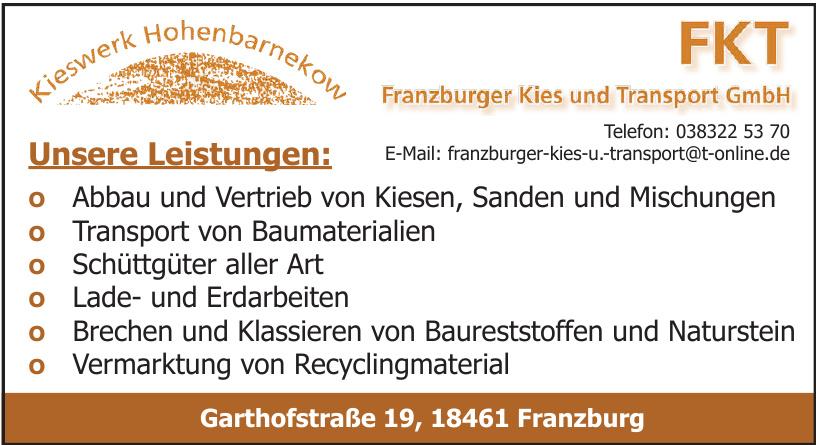 FKT Franzburger Kies und Transport GmbH