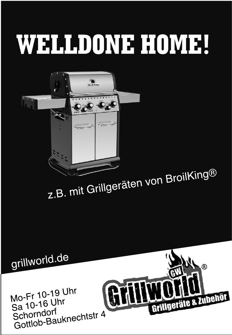Grillworld OHG Grillgeräte & Zubeör