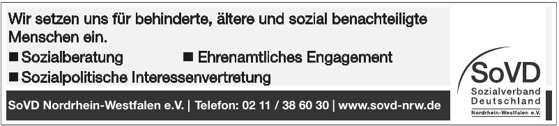 SoVD Nordrhein-Westfalen e.V.