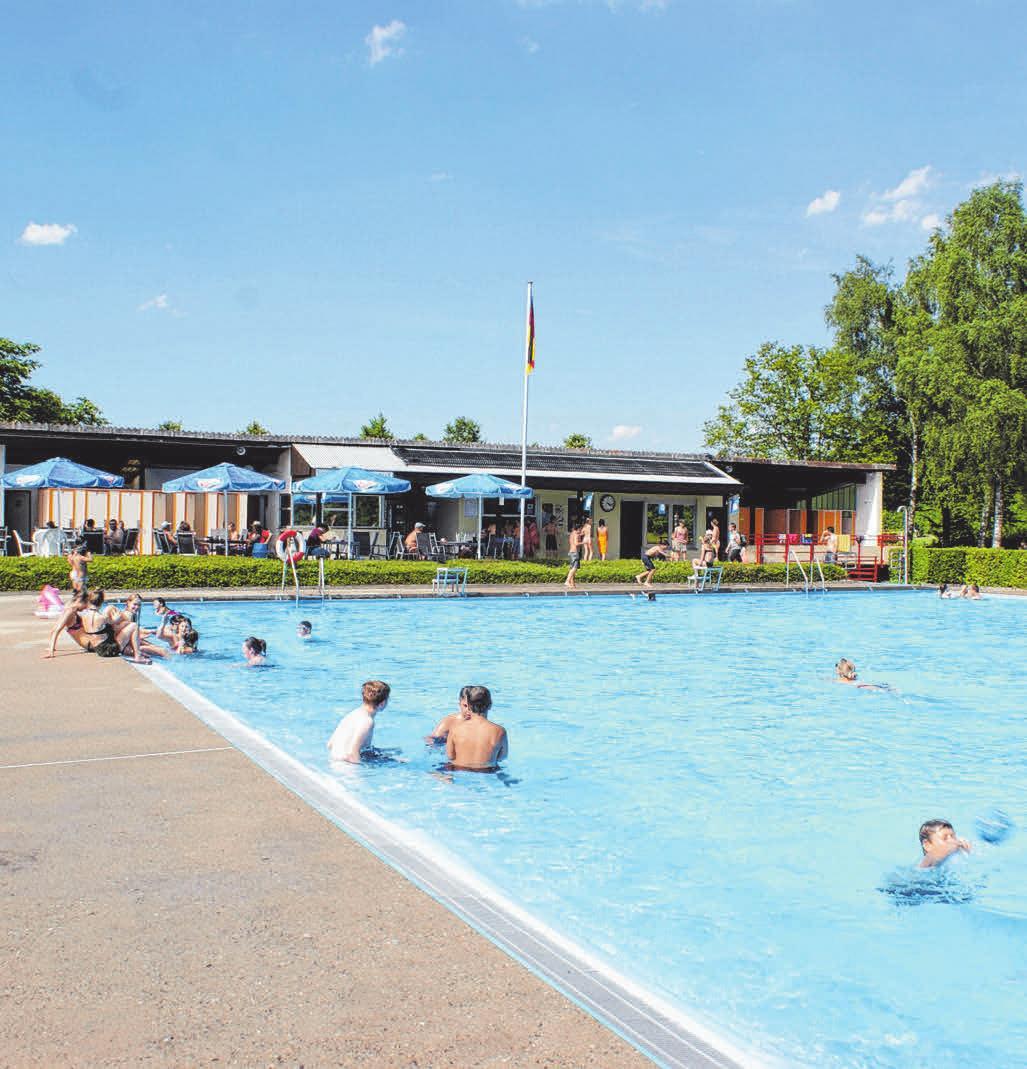 Das Foto zeigt das Freibad im Jahr 2017, vor der Sanierung.