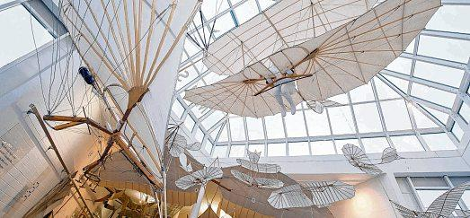 Die Flieger können schon länger virtuell besucht werden. Das Lilienthal-Museum will weiter Vorreiter sein – jetzt in der digitalen Welt. © Stefan Sauer