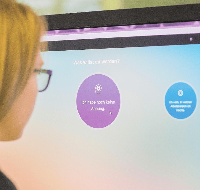 """Selbsterkundungstools wie das Internetportal """"Berufe Entdecker"""" können Jugendliche dabei unterstützen, eigene Stärken und Schwächen zu analysieren.FOTO: ROBERT GÜNTHER/DPA"""