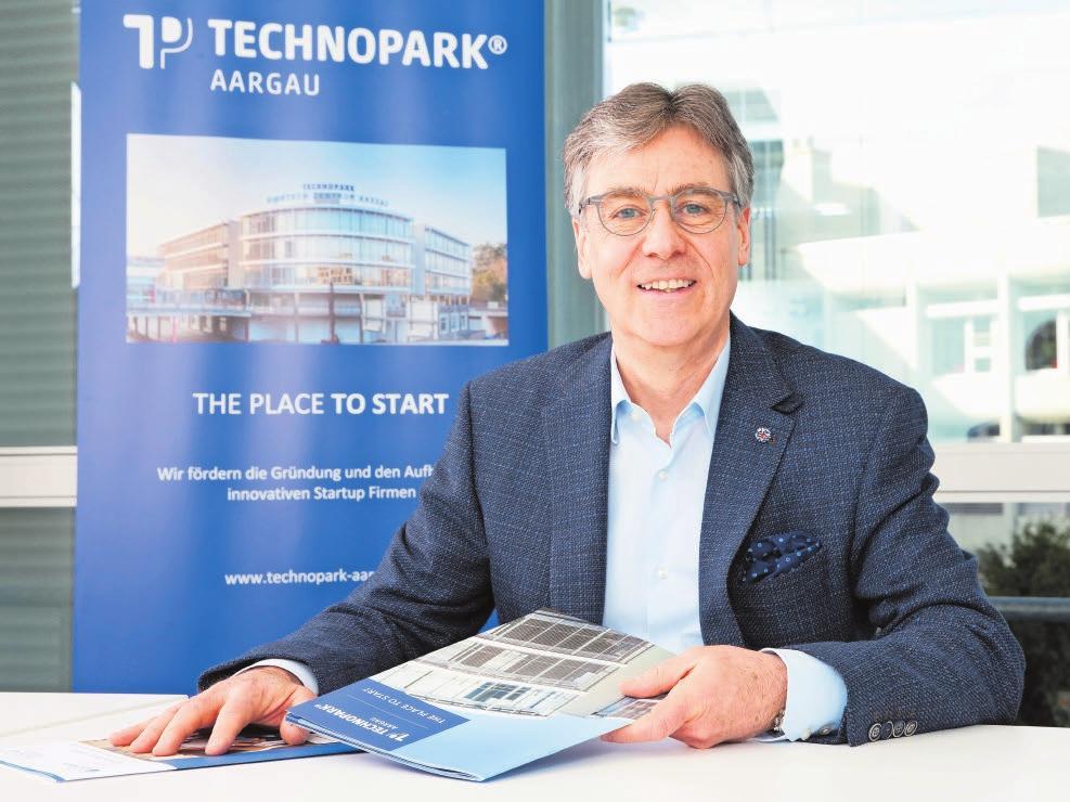 Beat Christen ist Geschäftsführer vom Technopark Aargau. Bild: zvg