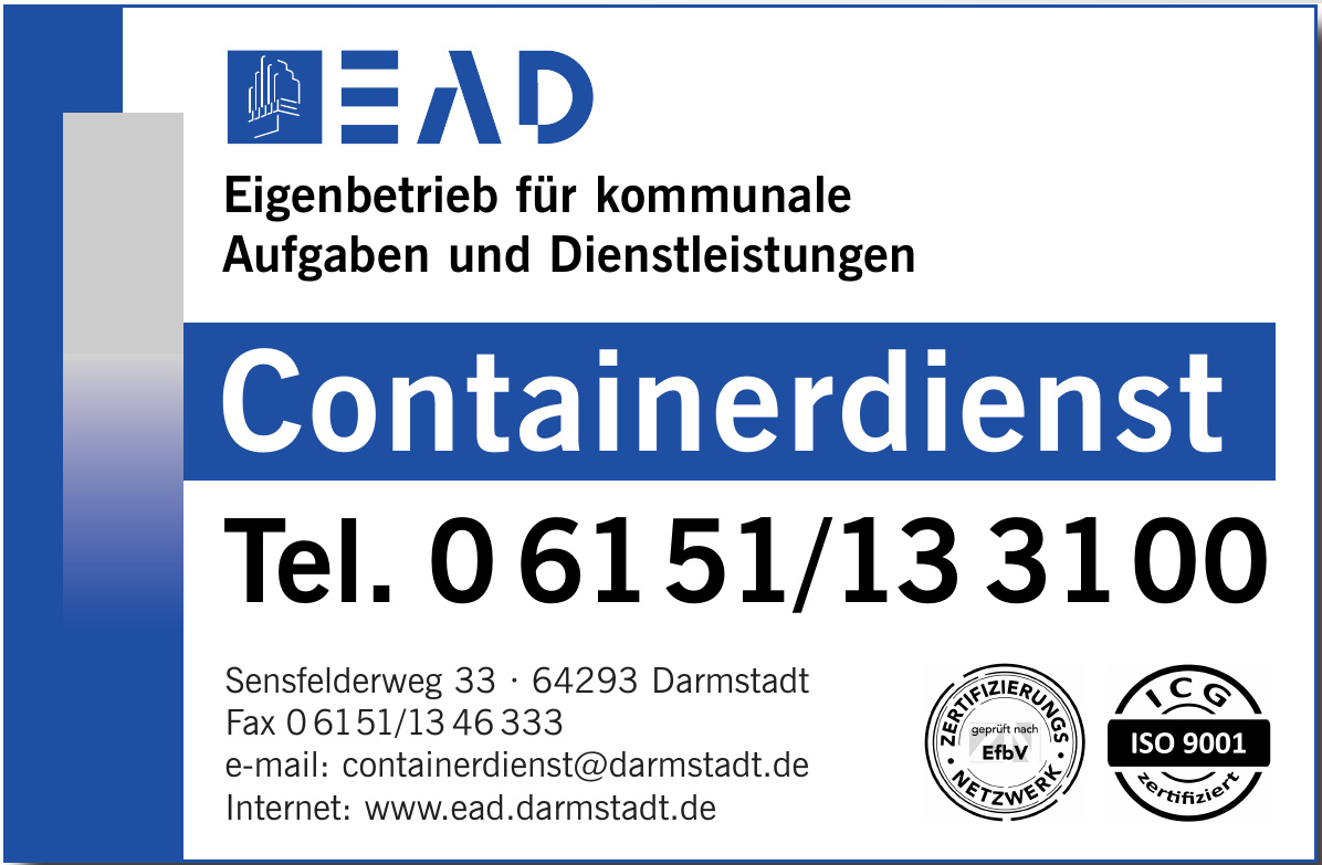 EAD Eigenbetrieb für kommunale Aufgaben und Dienstleistungen