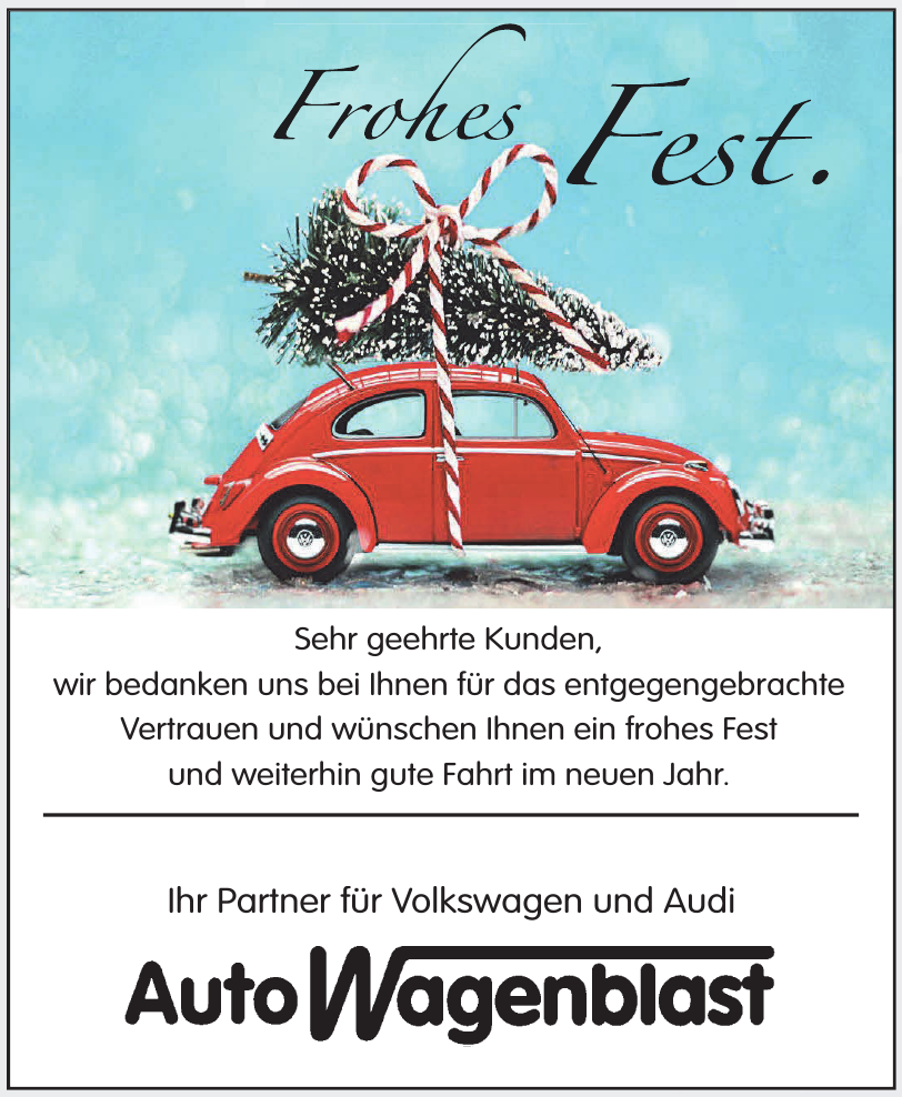 Auto Wagenblast