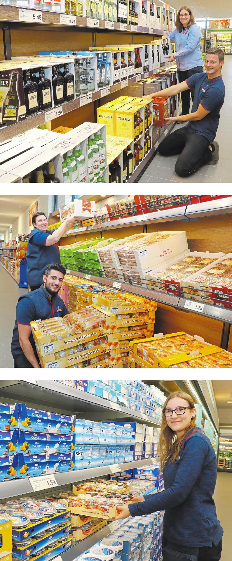 Aldi feiert neuen Markt mit Kunden Image 1