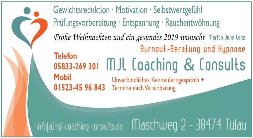 MJL Coaching & Consults