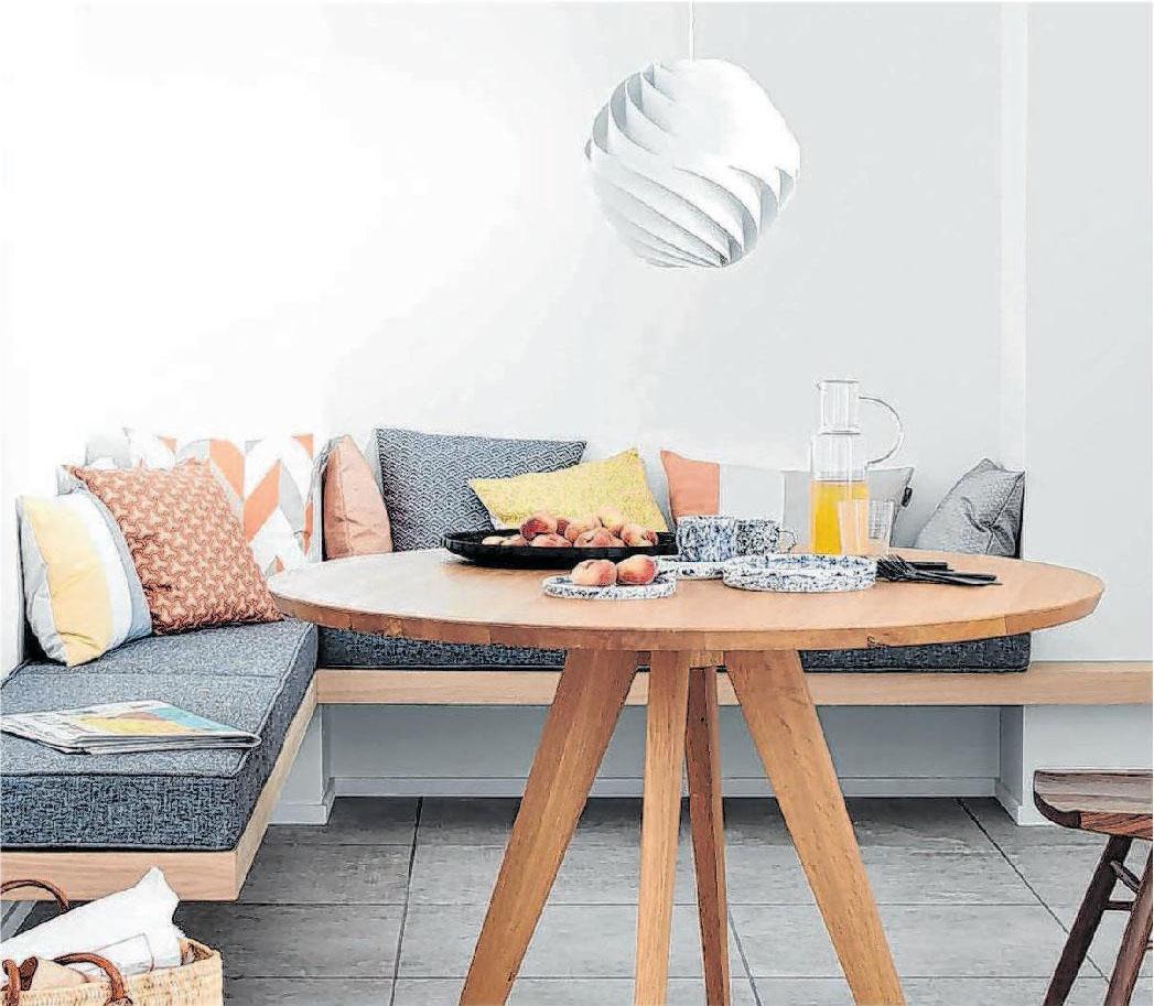 Abgestufte Grautöne bringen als Wandfarbe eine entspannte und ruhige Atmosphäre ins Zuhause. Foto: djd
