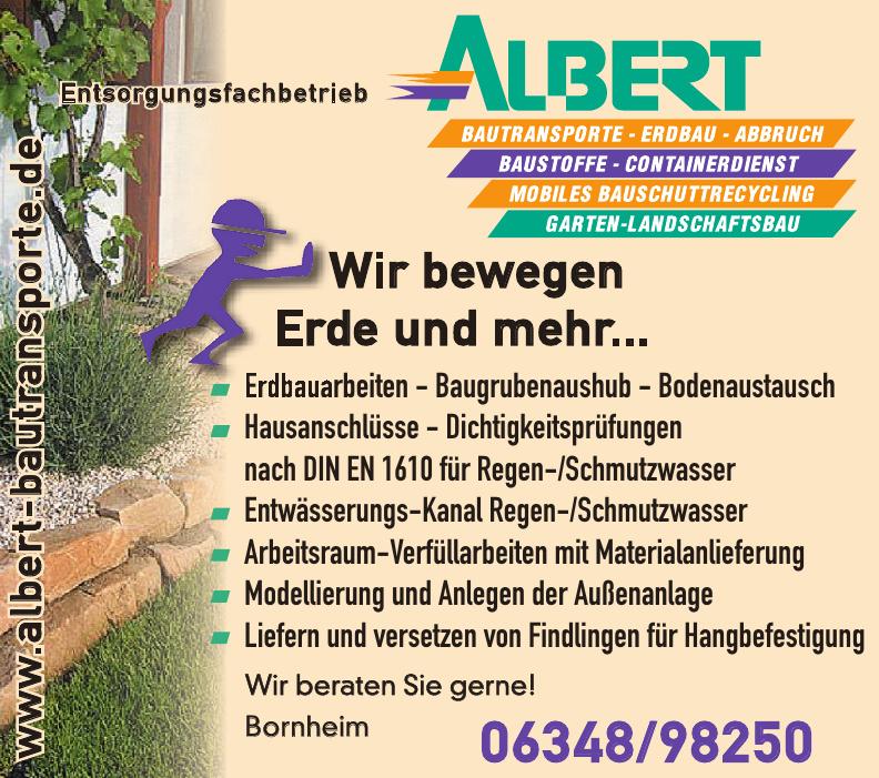 Entsorgungsfachbetrieb Albert