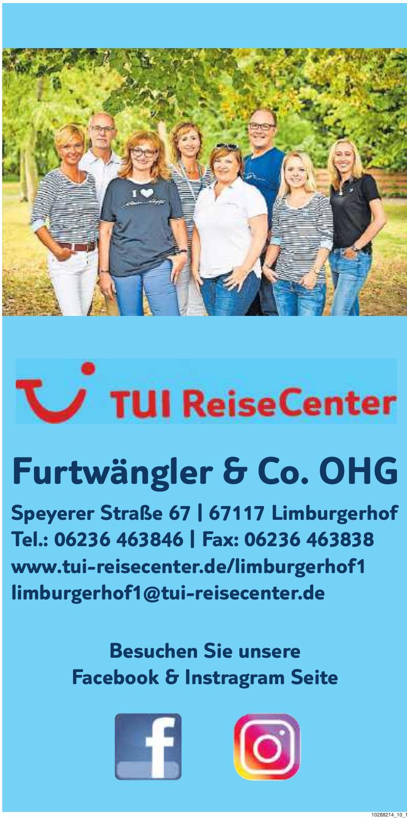 Tui ReiseCenter Furtwängler & Co. oHG