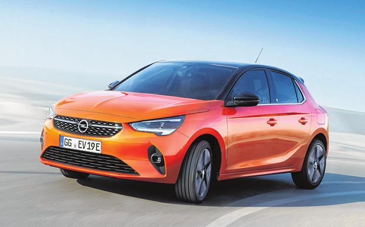 11 Opel Corsa-e