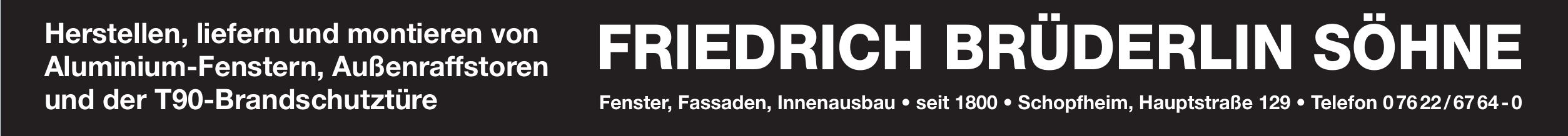 Fridrich Brüderlin Söhne