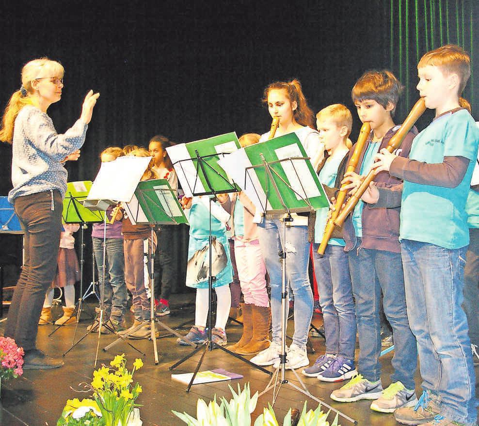 Beim Jubiläumsfest der Musikschule Ostkreis treten viele Musikklassen auf. Foto: Archiv (Schütz)