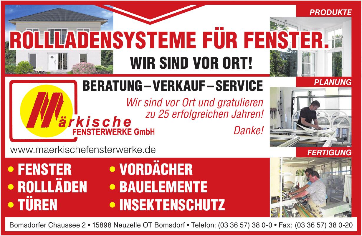 Märkische Fensterwerke GmbH
