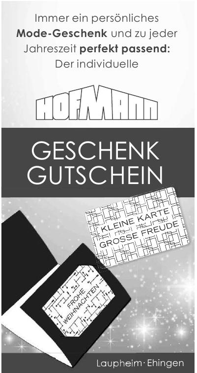 Hofmann Mode-Geschenk