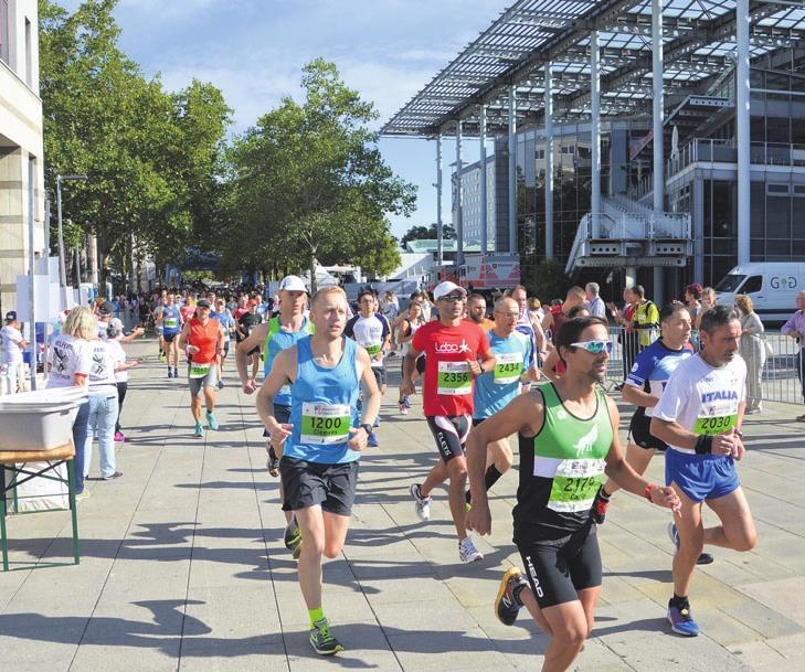 Start des Wolfsburger Marathons 2018. Archivfoto:ph