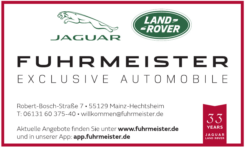 Fuhrmeister Exclusive Automobile