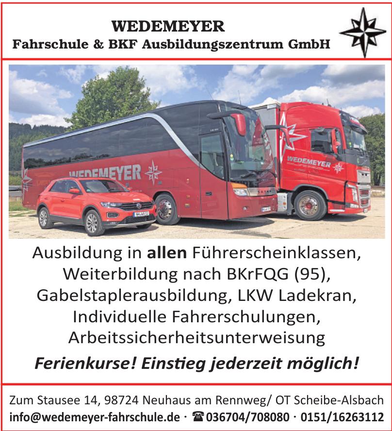 Wedemeyer Fahrschule & BKF Ausbildungszentrum GmbH