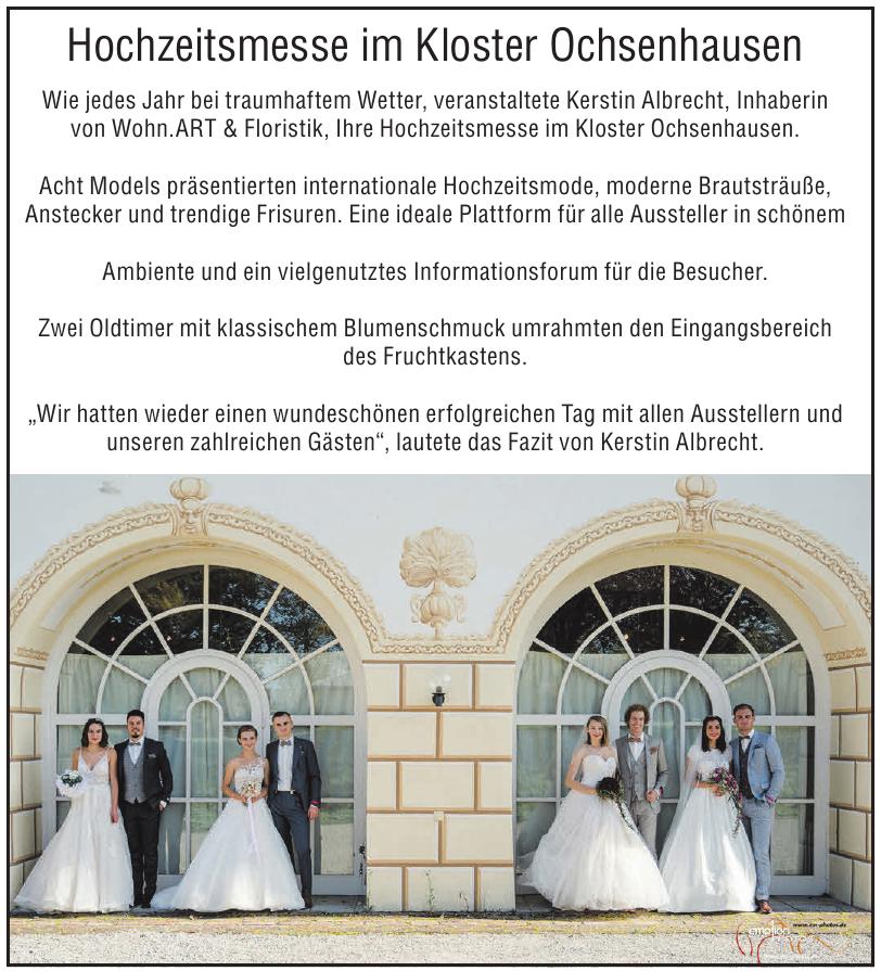 Wohn.ART & Floristik - Hochzeitsmesse