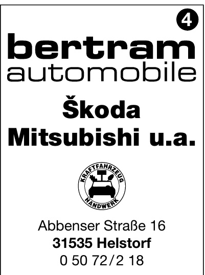 Škoda Mitsubishi u.a.