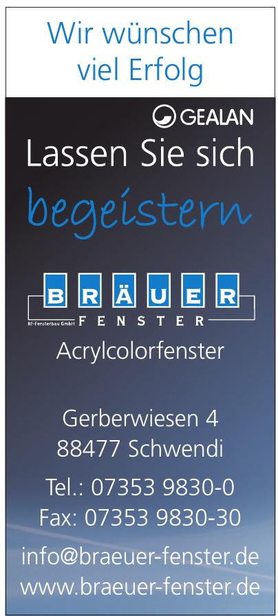 Bräuer Fenster Fensterbau GmbH