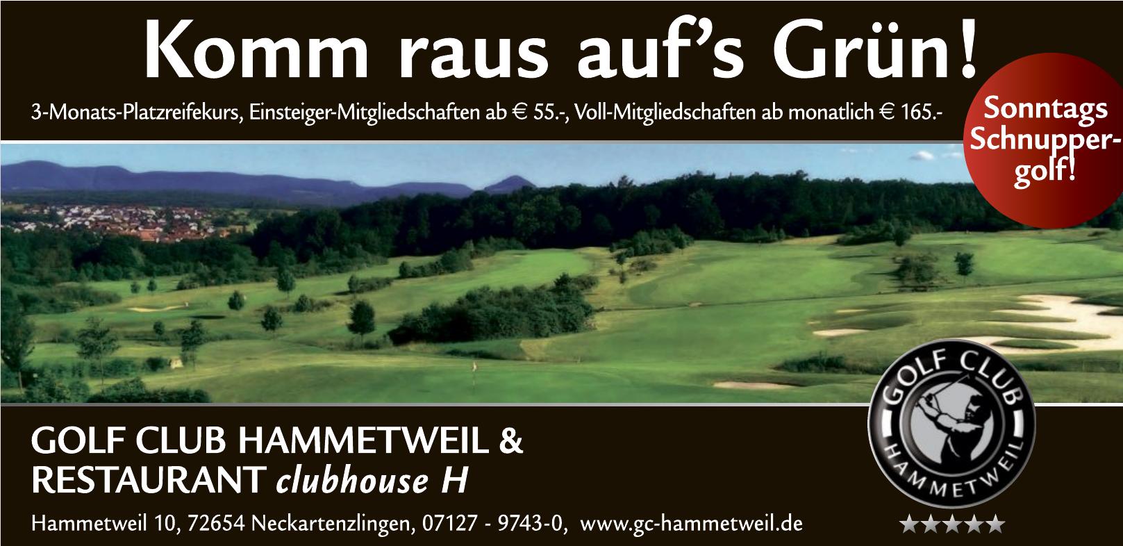 Golf Club Hammetweil GmbH & Co. KG