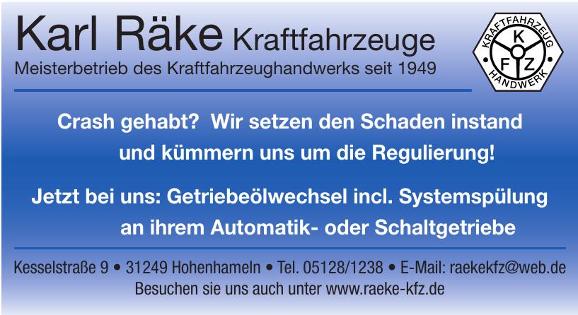 Karl Räke Kraftfahrzeuge