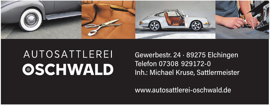 Autosattlerei Oschwald