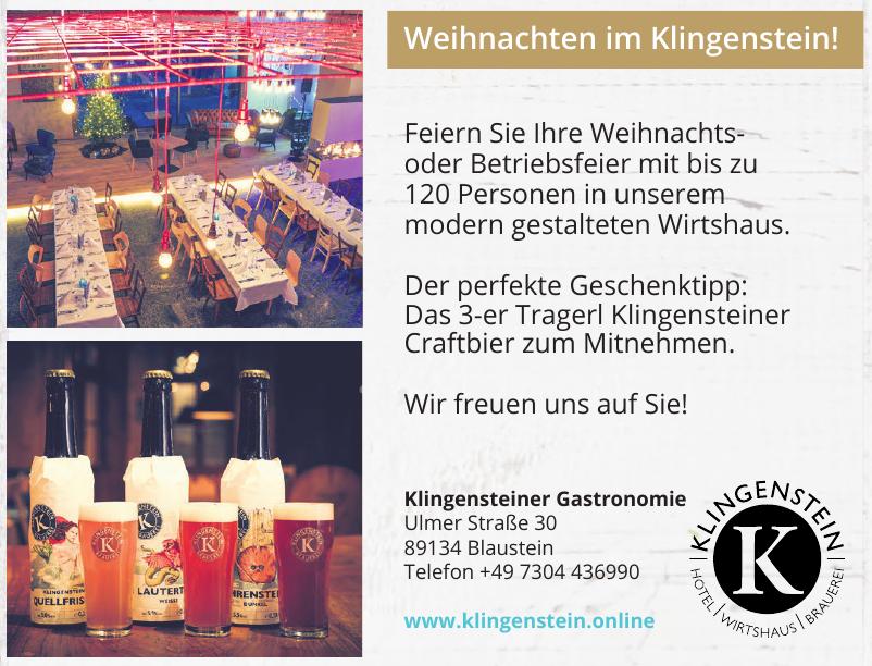 Klingensteiner Gastronomie GmbH & Co. KG