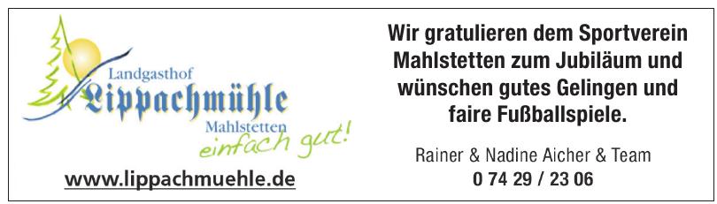 Rainer Aicher Landgasthof Lippachmühle
