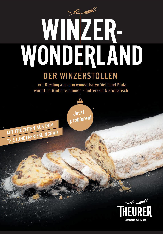 Winzer-Wonderland der Winzerstollen