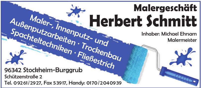 Malergeschäft Herbert Schmitt