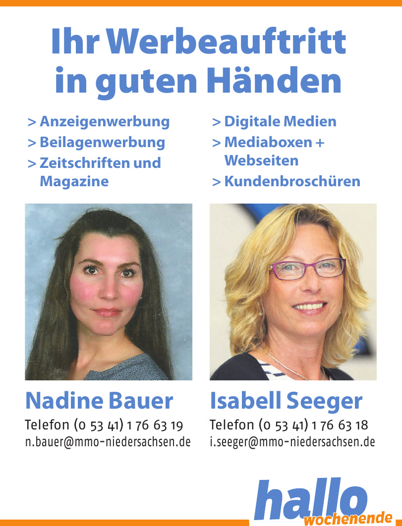 MMO Niedersachsen - Nadine Bauer