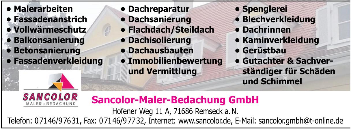 Sancolor-Maler-Bedachung GmbH