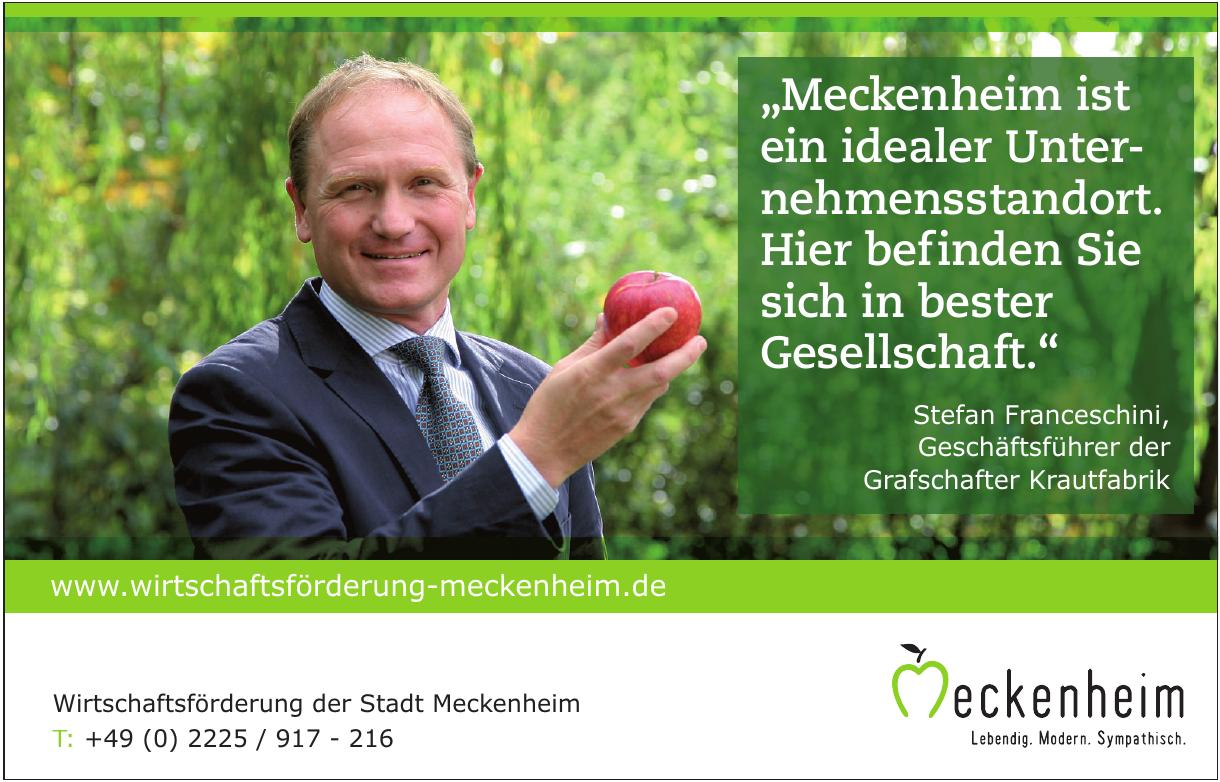 Wirtschaftsförderung der Stadt Meckenheim