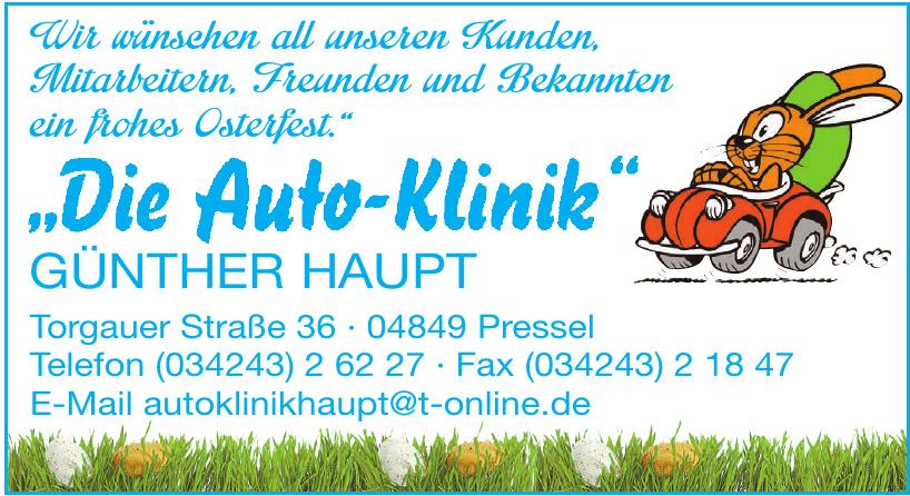 Haupt - Die Autoklinik
