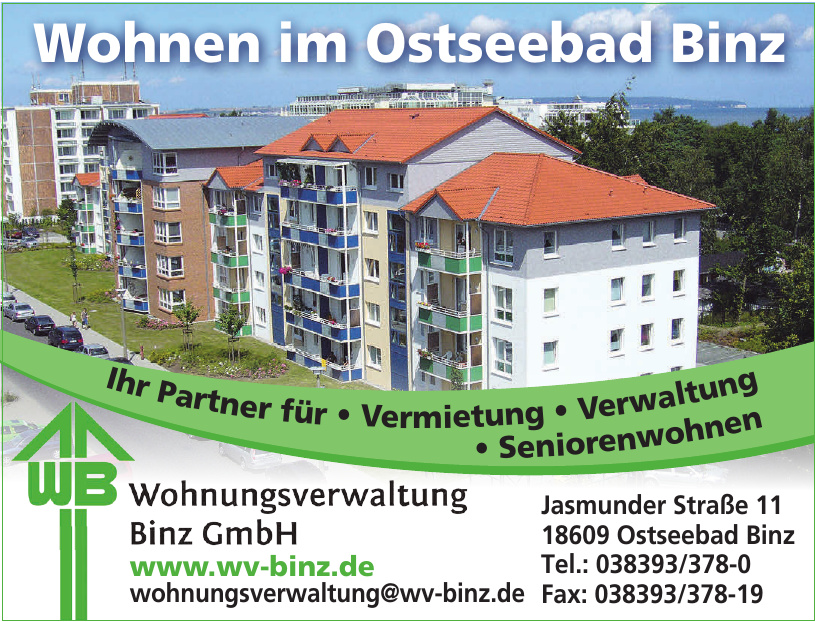 Wohnungverwaltung Binz GmbH