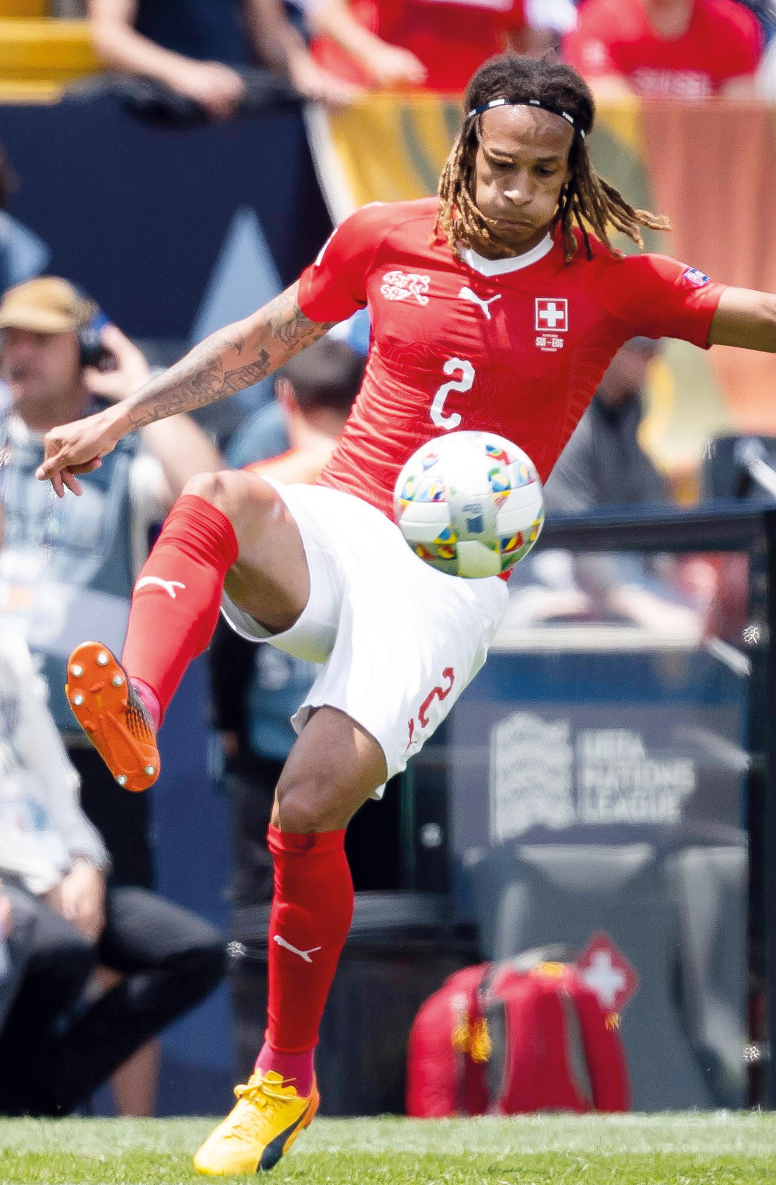 In der Nations League bis zum Schluss dabei: Kevin Mbabu und die Schweiz.