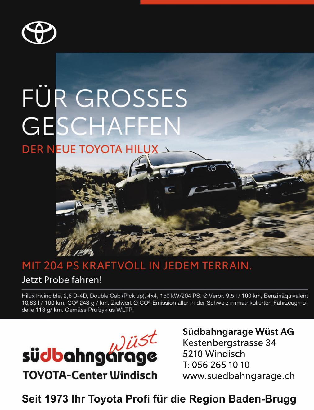Südbahngarage Wüst AG